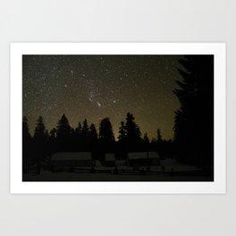 Winter in Oregon Art Print