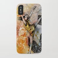 ballet iPhone & iPod Cases featuring Ballet by Andreas Derebucha