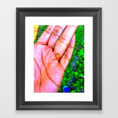 Hey there lil Lady Framed Art Print