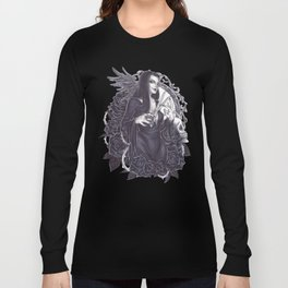 Morticia Addams Long Sleeve T-shirt