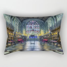 Angels We Have Heard on High Rectangular Pillow