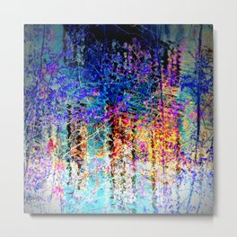 Abstract Fantasy 888 Metal Print