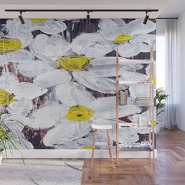 A MESS OF DAISIES Wall Mural