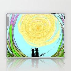Kitty Cat Love Laptop & iPad Skin