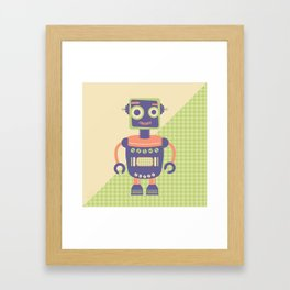Rob-Bot01 Framed Art Print
