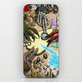 Ouija Monster! iPhone Skin