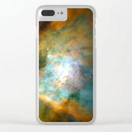 Space Fog Clear iPhone Case