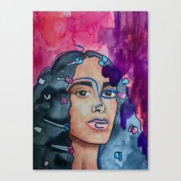 Solange A Seat at the Table Canvas Print