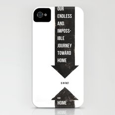 Endless Journey Home iPhone (4, 4s) Slim Case