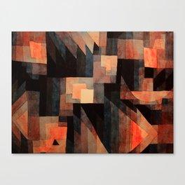 "Paul Klee ""Gradation, Red-Green (Vermillion) 1921"" Canvas Print"