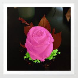 Boutonniere in Color Art Print