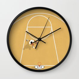 I just wanna play basketball Wall Clock