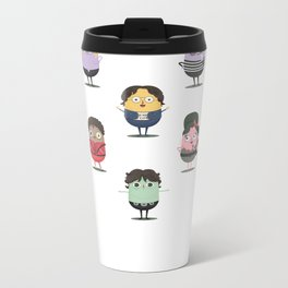 The little croquettes Music Metal Travel Mug