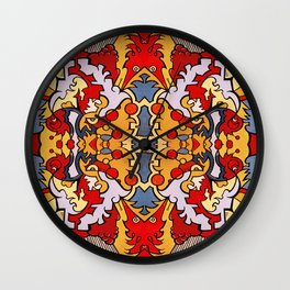 Polywopticon Wall Clock