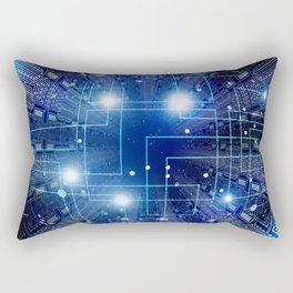 Digital background Rectangular Pillow