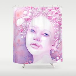 Infectious Innocence Shower Curtain