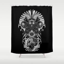 Trimurti Shower Curtain