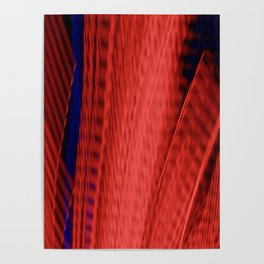 Abstract Urban Sprawl Poster