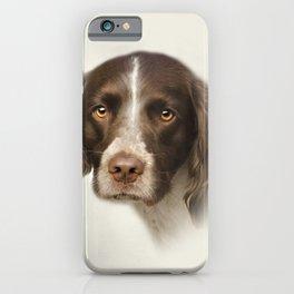 English Springer Spaniel iPhone Case