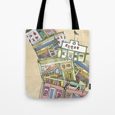 old houses Tote Bag
