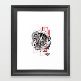 Floralnaut Framed Art Print