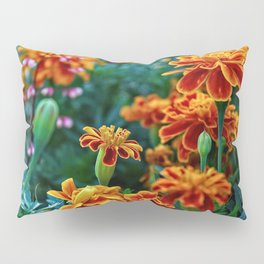 Marigolds in Garden Pillow Sham