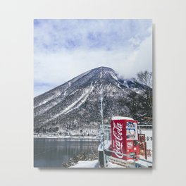 In the Japanese mountains Metal Print