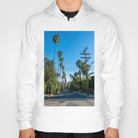 los angeles Hoodies featuring Los Angeles by Luke Callow