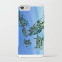 ninja turtles iPhone & iPod Cases featuring Ninja Turtles by MrDenmac