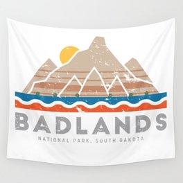 Badlands National Park, South Dakota Wall Tapestry