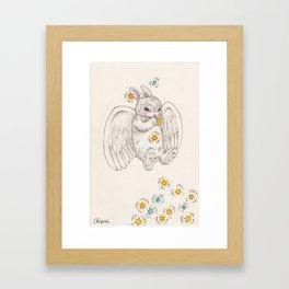 angel bunny Framed Art Print