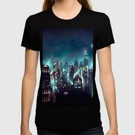 great city atmosphere at night T-shirt