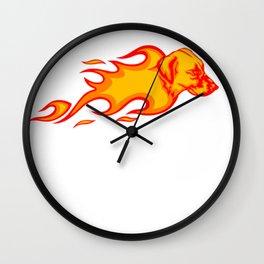 Blackmouth Cur Wall Clock