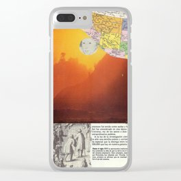 0327 Clear iPhone Case