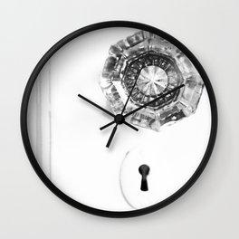 Door to the Past Wall Clock