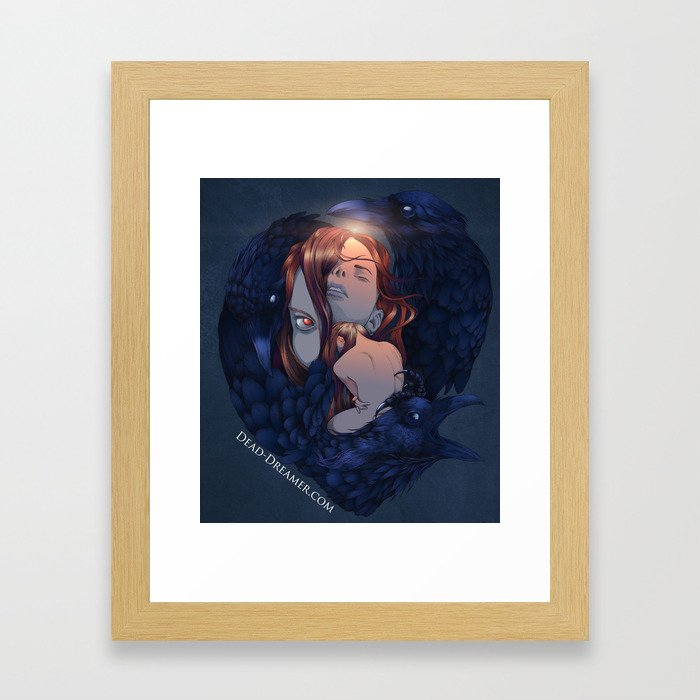To Dream is to Die - Brenna Whit - Colored Framed Art Print