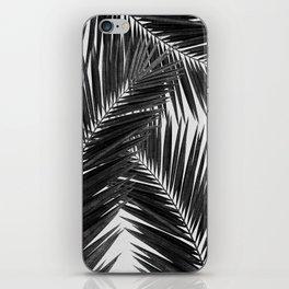 Palm Leaf Black & White III iPhone Skin