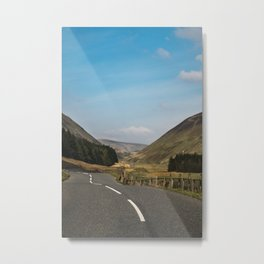 The Road Goes On Metal Print