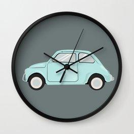 Blue June Bug Wall Clock
