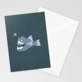 Angler Fish Stationery Cards
