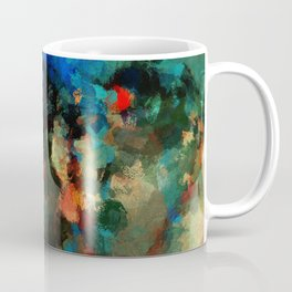 Colorful Landscape Abstract Painting Coffee Mug