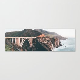 Bixby Bridge Big Sur Landscape Canvas Print