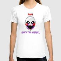 fnaf T-shirts featuring FNAF Marionette by Bloo McDoodle
