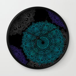 My Spirit Mandhala | Secret Geometry Wall Clock