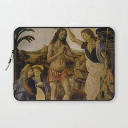 Andrea del Verrocchio - The Baptism of Christ Laptop Sleeve