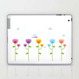 Colorful Garden Laptop & iPad Skin