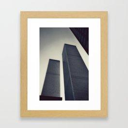 NYC Twins, ca. 1999 Framed Art Print