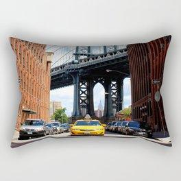 That Brooklyn View - The Empire Peek Rectangular Pillow