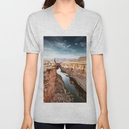 on top of the canyonland Unisex V-Neck