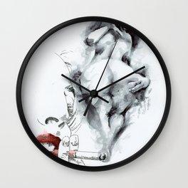 NUDEGRAFIA - 55 smoke Wall Clock